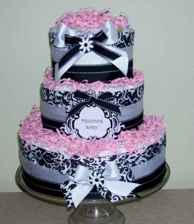 By Cindy S Cute Cuddle Diaper Cakes