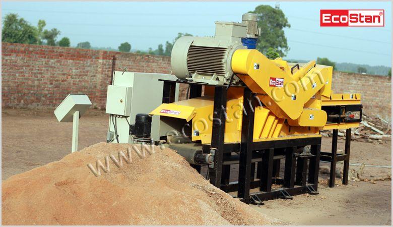 Manufacturers Of Sawdust Making Machines Ecostan India Pvt Ltd Wood Waste Sawdust Making Machine