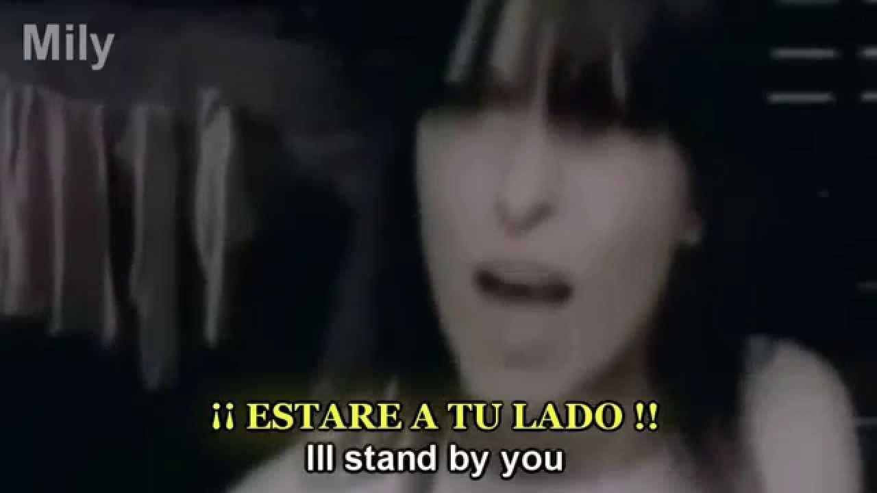 The Pretenders I Ll Stand By You Subtitulado Español Ingles Los Pretendientes Canciones Musicales Canciones