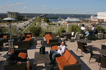 Wyvern Hotel Rooftop Punta Gorda Great Place To Have Drinks Enjoy The View Of Charlotte Harbor With Friends Swim In Pool And Dance