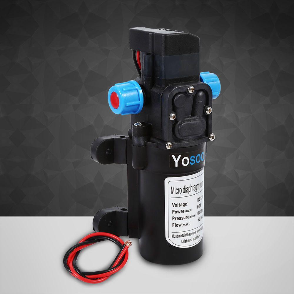 Dc12v Hochdruck Membranpumpe Wasserpumpe Automatisch Pumpe 5l X2f