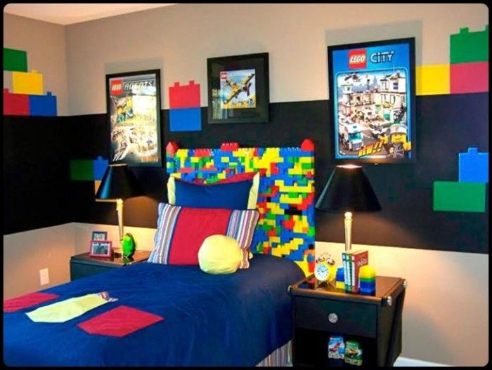 bedroom pics puzzle teenage boy bedroom design boys bedroom - Ideas For Decorating A Boys Bedroom