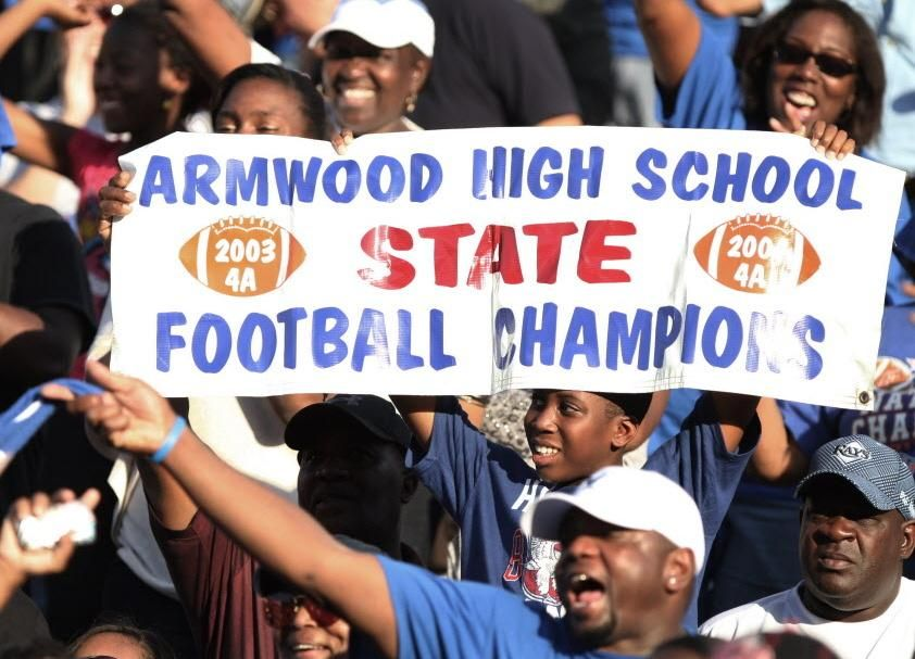 Armwood Hawks High School Football Team fl High school