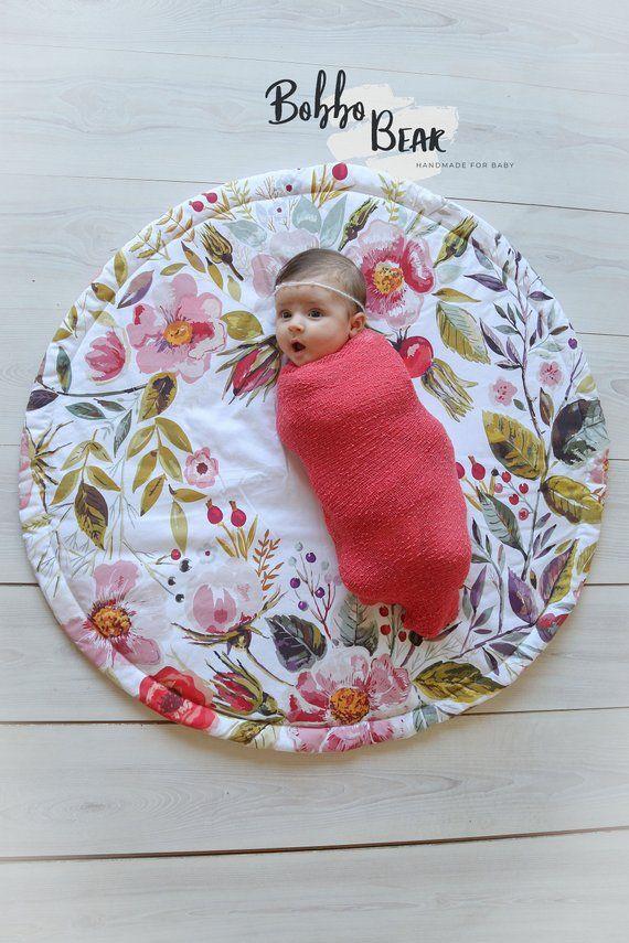 Baby Pink Play Mat Nursery Chair Toys Girl Seater Newborn Playmat Activity New
