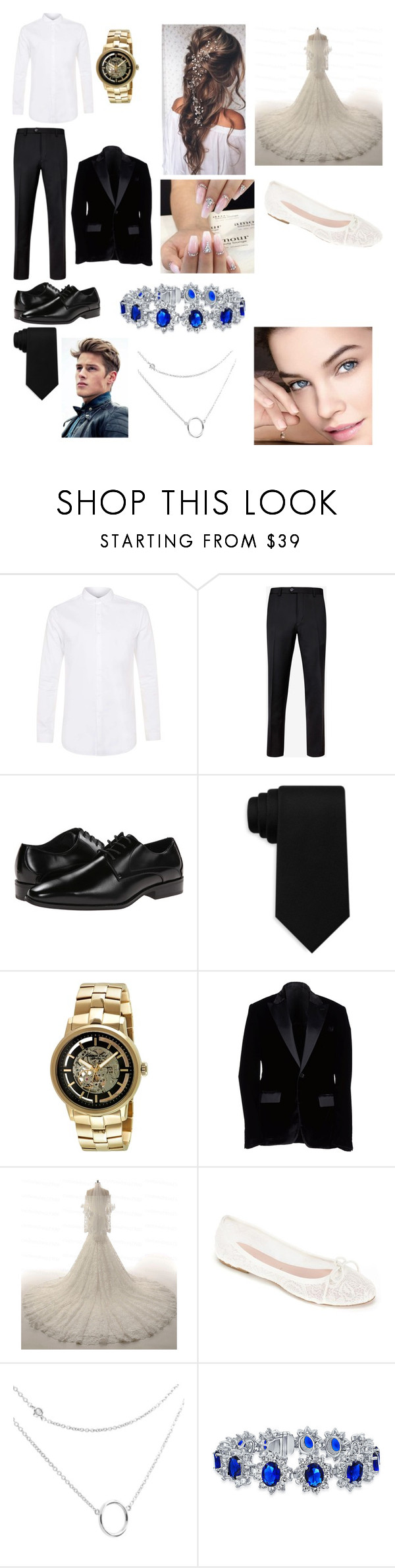 """For @alexiacaesar"" by mdbjanae on Polyvore featuring beauty, Topman, Ted Baker, Stacy Adams, Tommy Hilfiger, Kenneth Cole, Dirk Bikkembergs, Summit by White Mountain and Bling Jewelry"