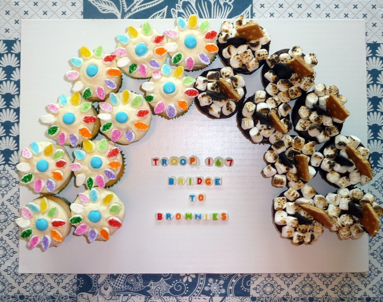 """I made these for my daughter's """"Bridge to Brownies ..."""