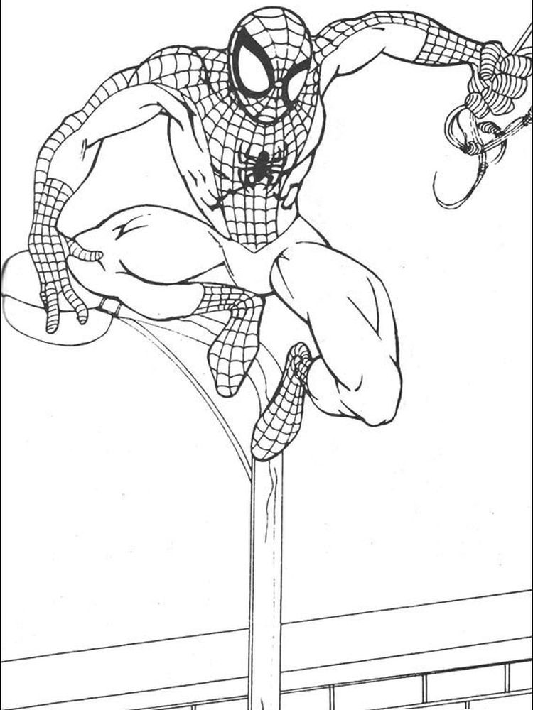 Spiderman Coloring Book Pages Following This Is Our Collection Of Spiderman Coloring Page Yo Spiderman Coloring Avengers Coloring Pages Batman Coloring Pages