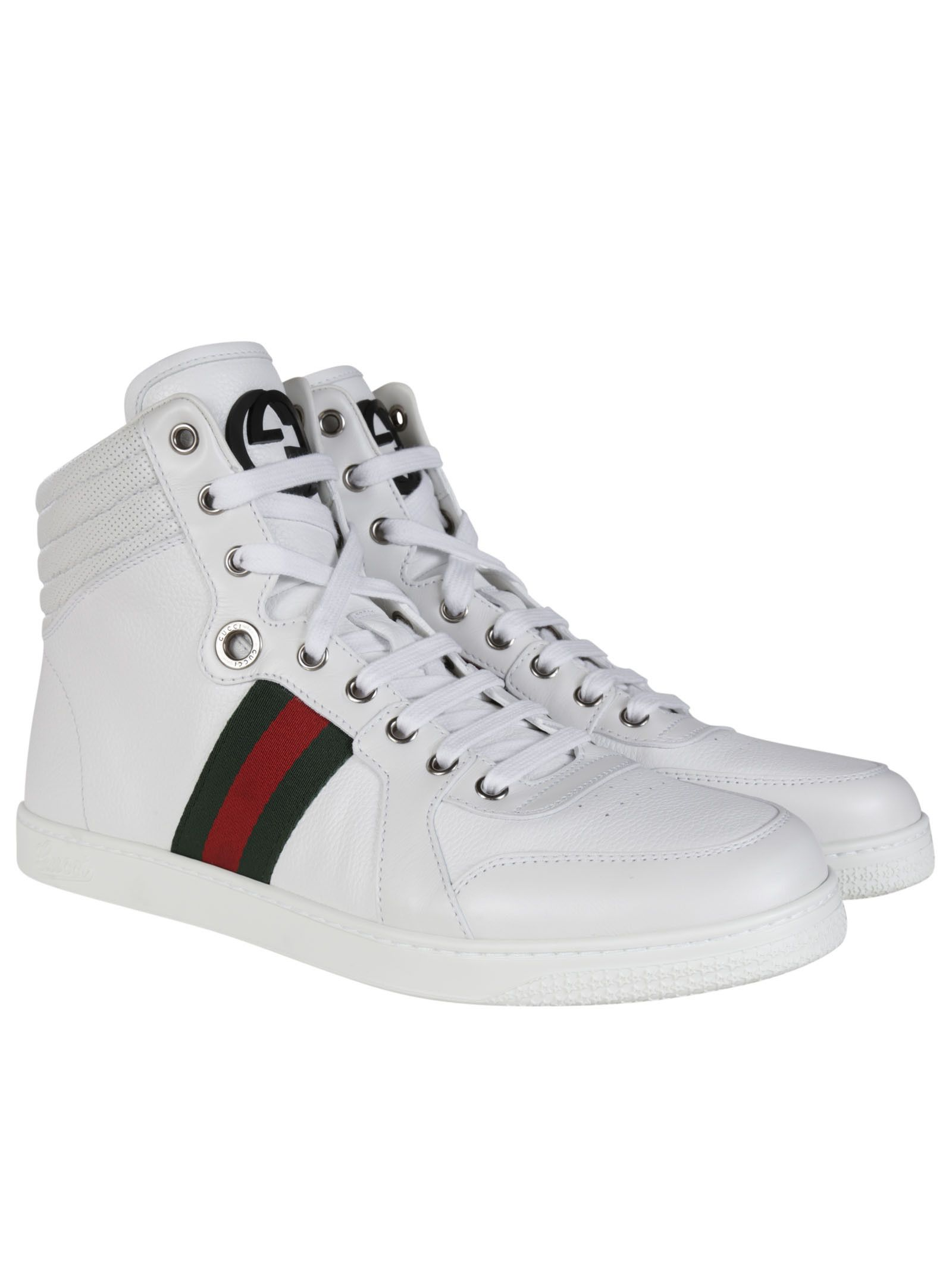 9b09e916a Gucci Guccissima Leather High-top Sneakers | JABROWN PARKS | Gucci ...