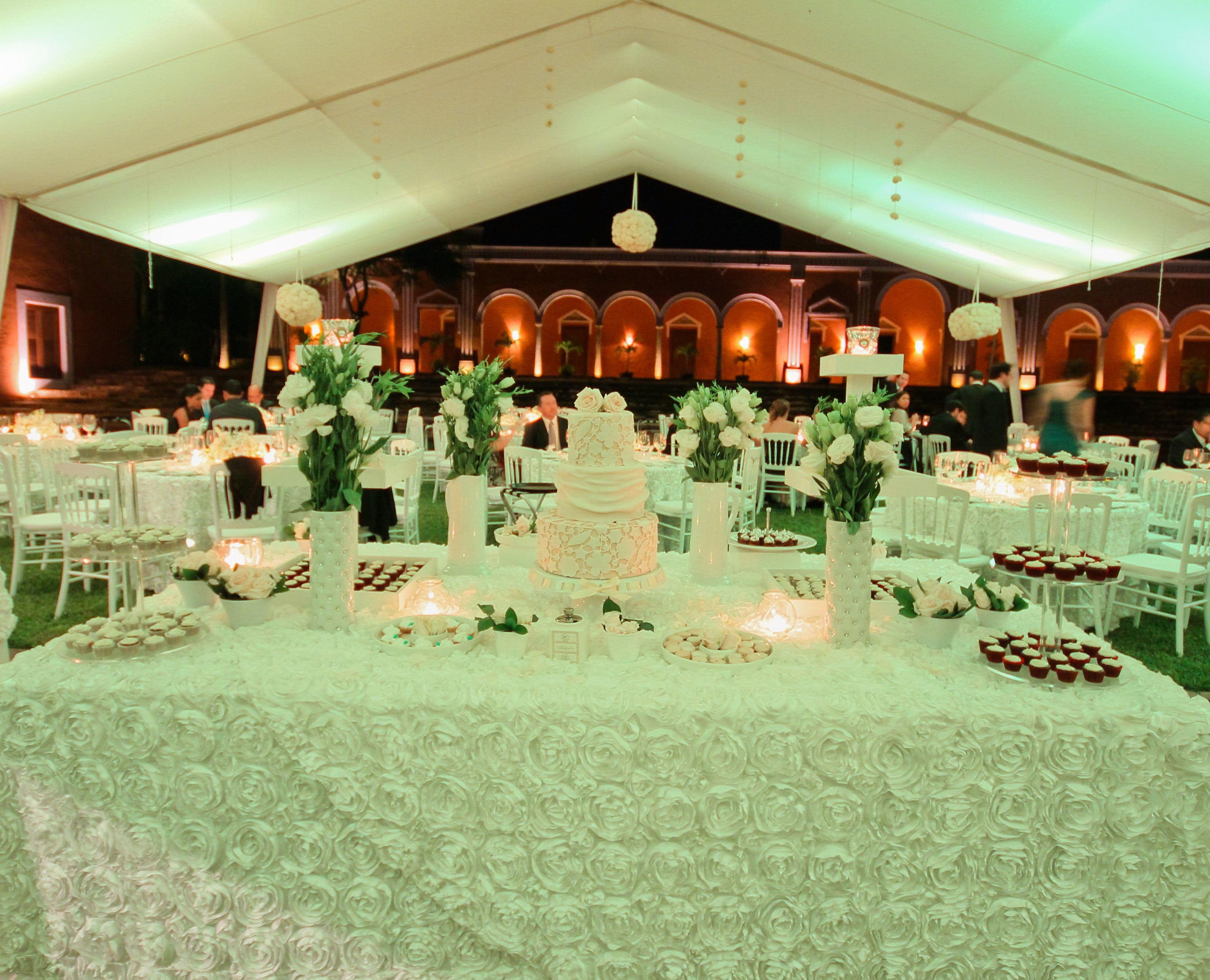 Mesa de dulces para bodas clasicas classical wedding - Mesa de dulces para boda ...