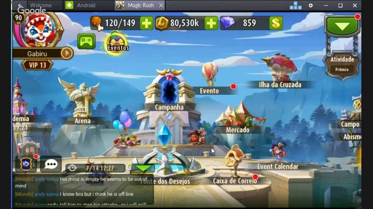 magic rush heroes mod apk 2018