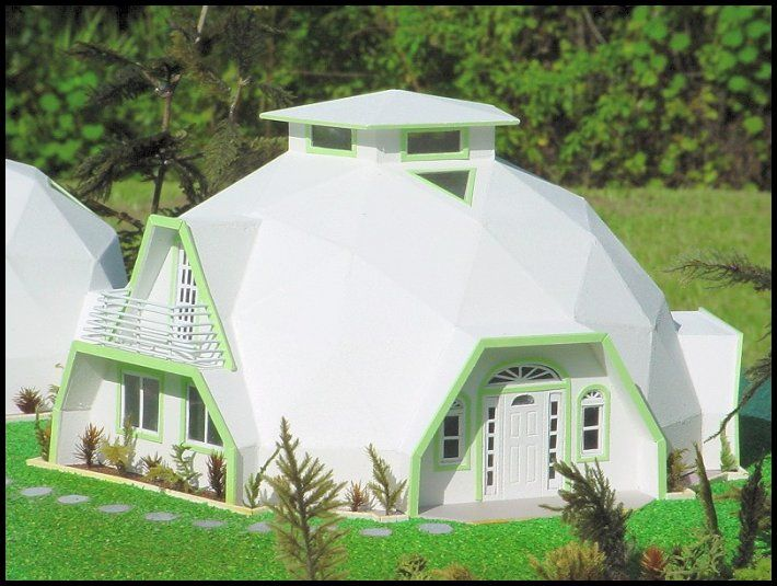 Model dome house