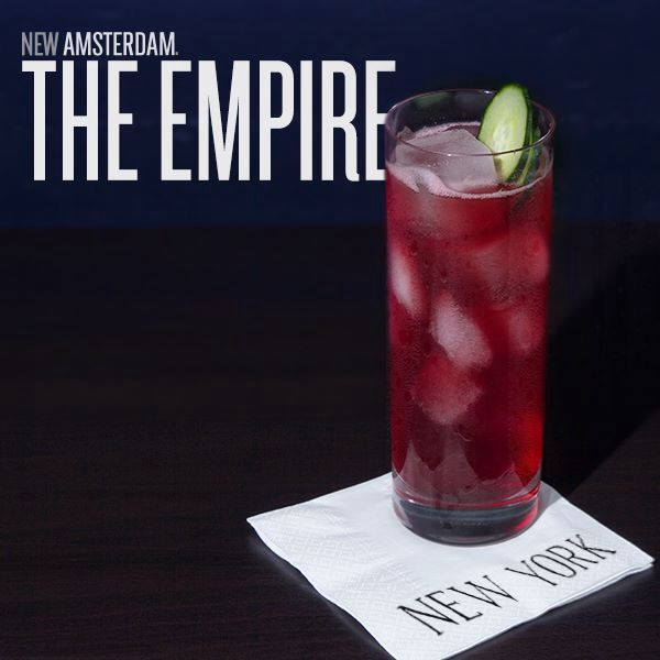 2 Oz New Amsterdam Citron Vodka 3 Oz Cranberry Juice 1 4 Oz Lime