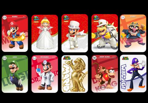 fb64aad3f Mario Odyssey Amiibo Cards - Singles or sets | all amiibo | Cards ...