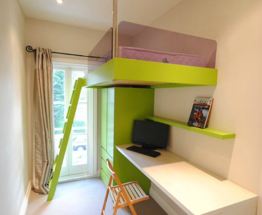 Dormitorios peque os juveniles decoraci n habitaciones for Ideas para decorar habitacion pequena juvenil