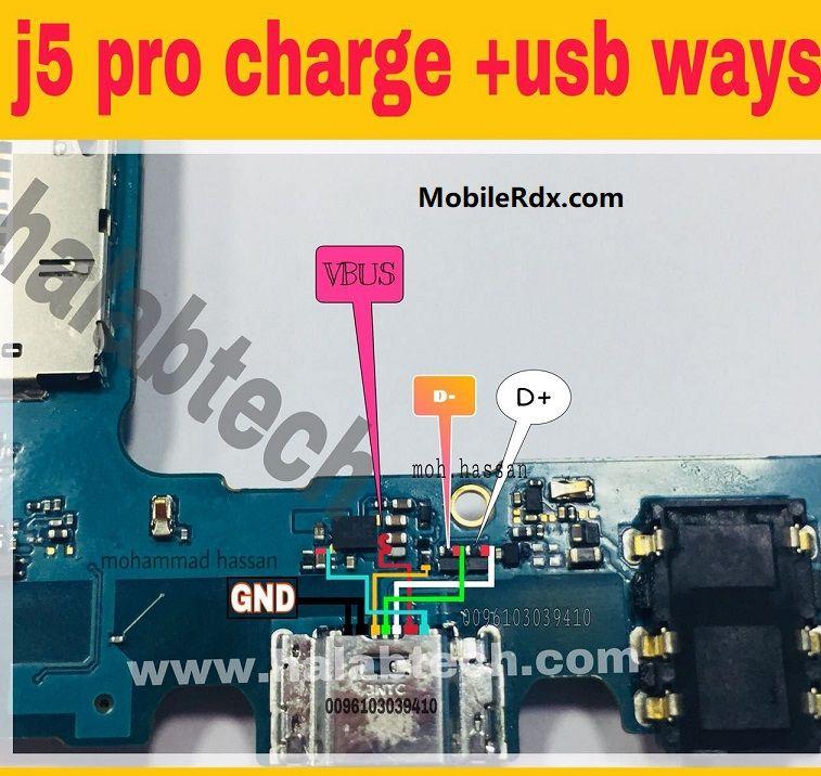 Samsung Galaxy J5 Pro J530f Charging Problem Solution