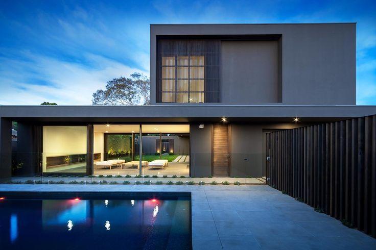Modern house design residence in melbourne by matt watts