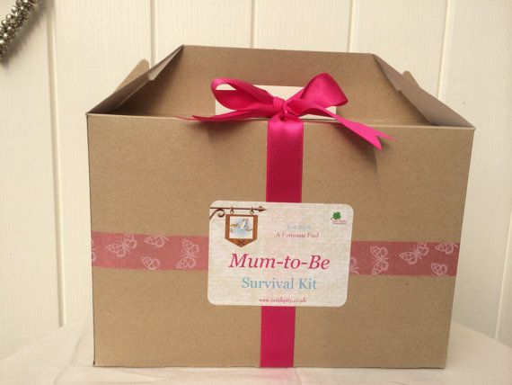 Humorous Yet Touching Mum To Be Survival Kit Box That All Expectant Mothers Will Love Receive Good Idea Do Baby BooK Grandma Reveal For My Mom