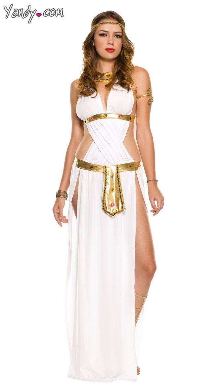 White Sexy Goddess Costume Greek Goddess Halloween Costume Goddess of Love Costume  sc 1 st  Pinterest & White Sexy Goddess Costume Greek Goddess Halloween Costume Goddess ...