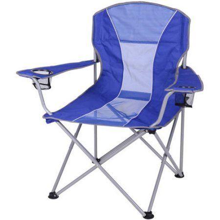 Ozark Trail Oversized Mesh Chair, Blue Light Blue