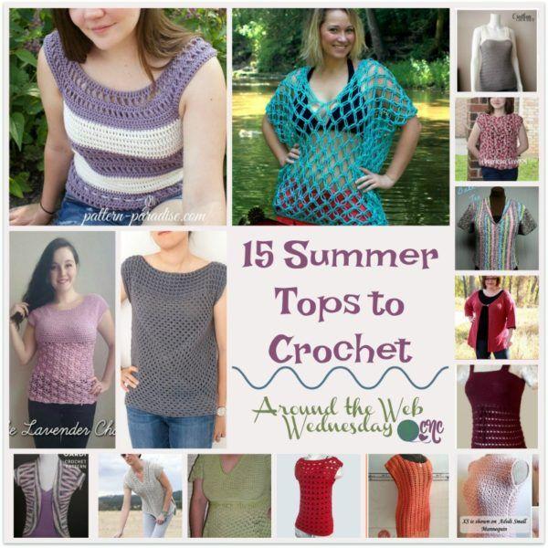 15 Summer Tops to Crochet ~ FREE Crochet Pattern Roundup | Crochet ...
