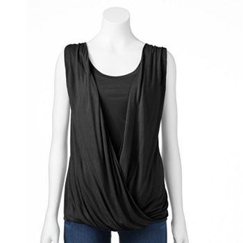 Apt. 9 Twist-Front Top - Women\'s   Shirts   Pinterest   Clothes ...
