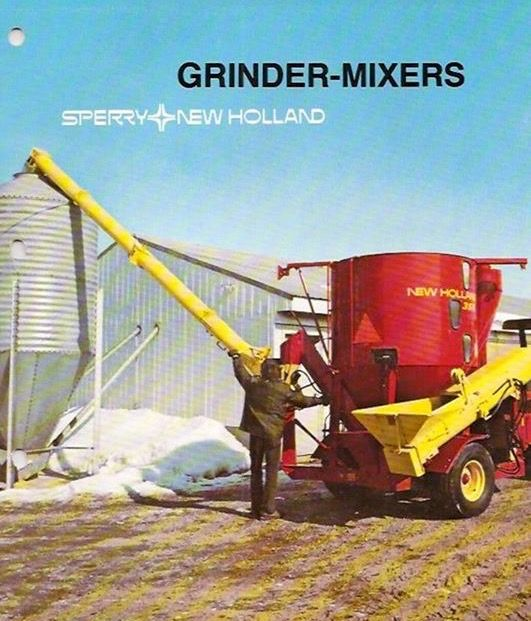 Sperry New Holland Grinder Mixers Ad Old Farm Equipment New Holland New Holland Agriculture