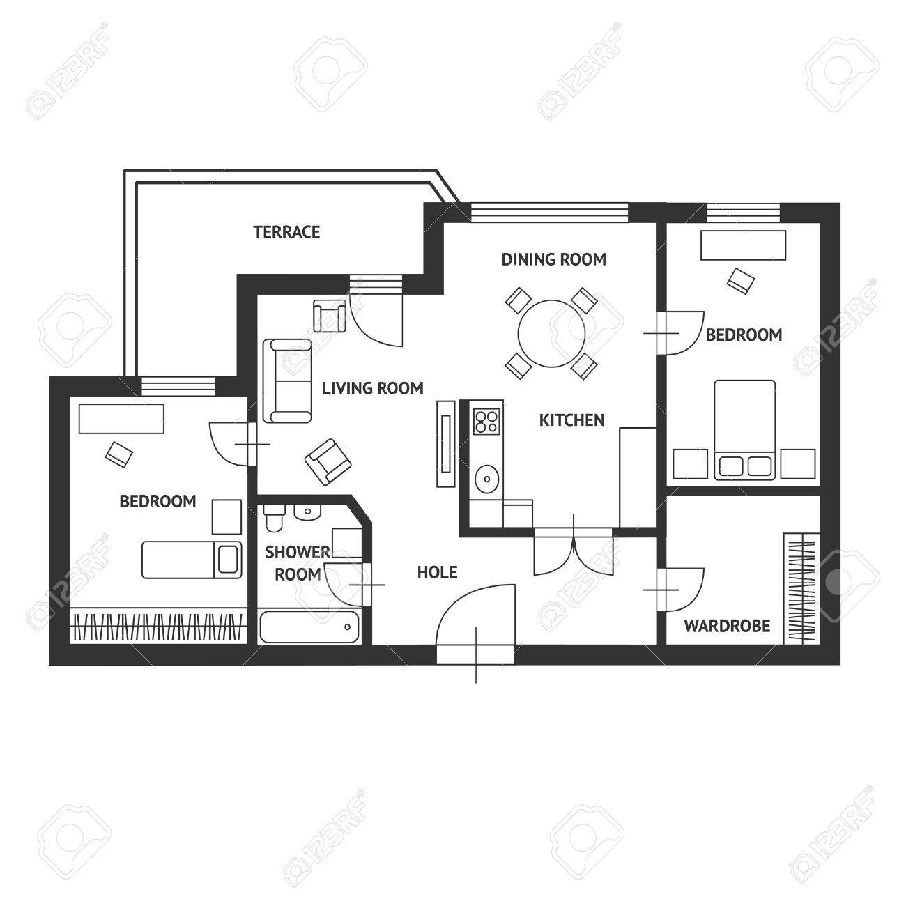 Pin Van Sunshine Op Collect Architecten Witte Vloer Zwart Wit