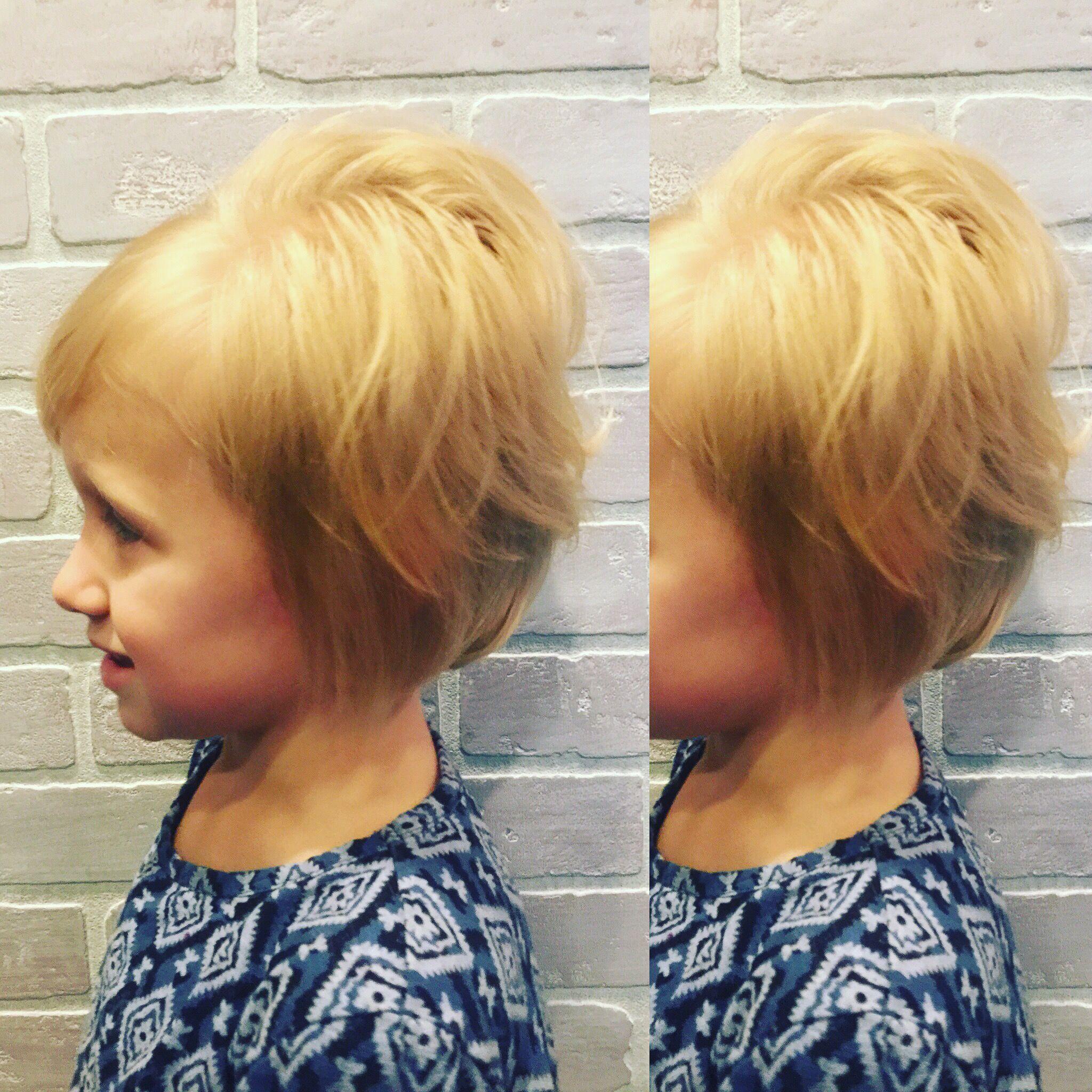 Children Haircut Bob Schalena Severs At Bel Ami Salon In Fort