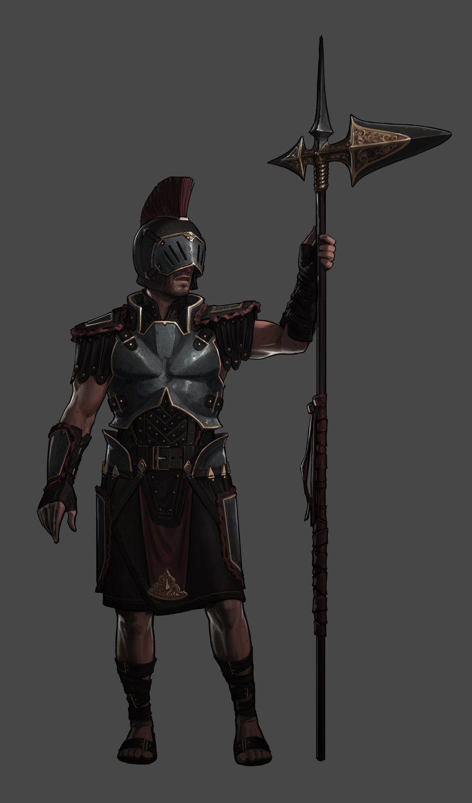 Guard, John Grello on ArtStation at https://www.artstation.com/artwork/guard-24c9154f-1f67-4460-af1c-fb42f5f1ae8a
