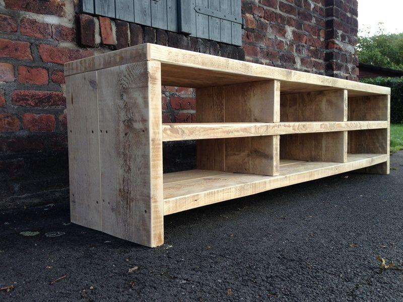 Bauholz Sideboard Lowboard Diy Sideboard Bauen Mit Holz Bauholz Mobel