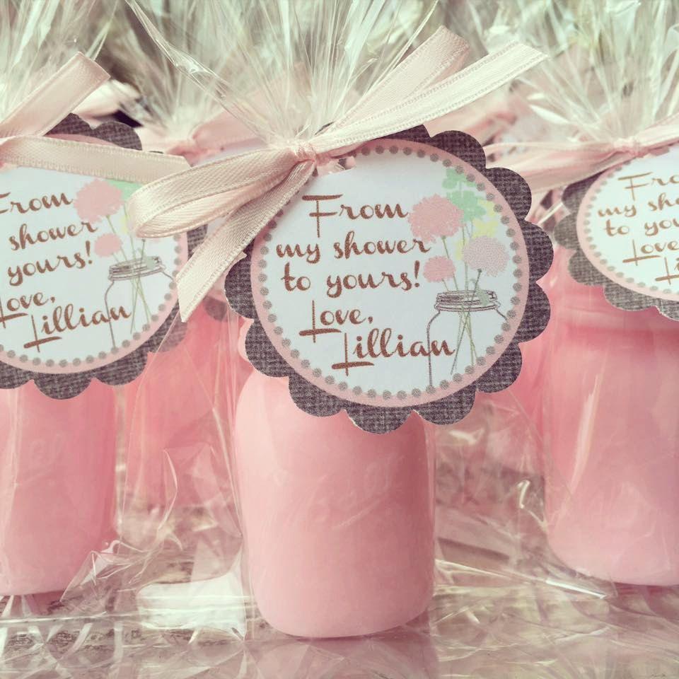 25 Mason Jar Soap Favors - Bridal Shower, Rustic Wedding Mason Jar ...