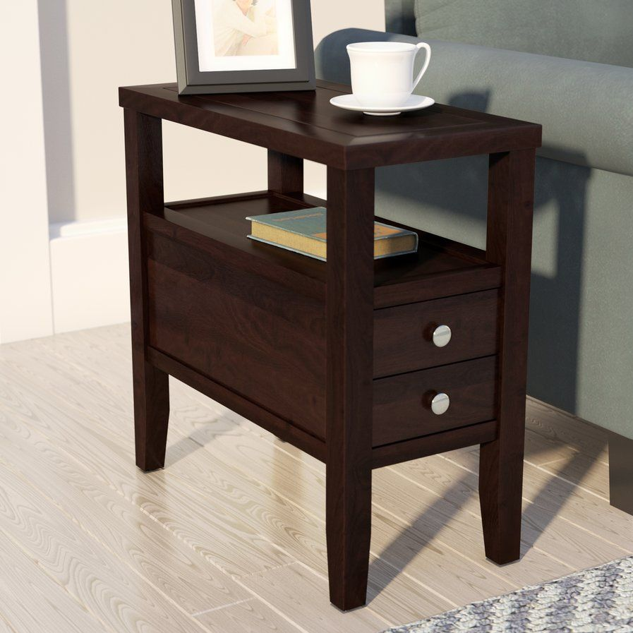 Gahagan End Table With Storage End Tables With Storage End Tables Living Room Diy #wooden #end #tables #for #living #room