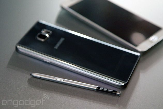速報:Galaxy Note 5発表。S-Penも進化、4GB RAMとS6同等SoCに5.7型2560×1440有機EL - Engadget Japanese