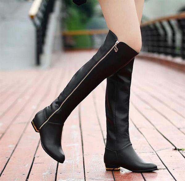 Bayan Diz Ustu Uzun Cizme Modelleri Moda Ayakkabilar Moda Stilleri Ve Cizmeler