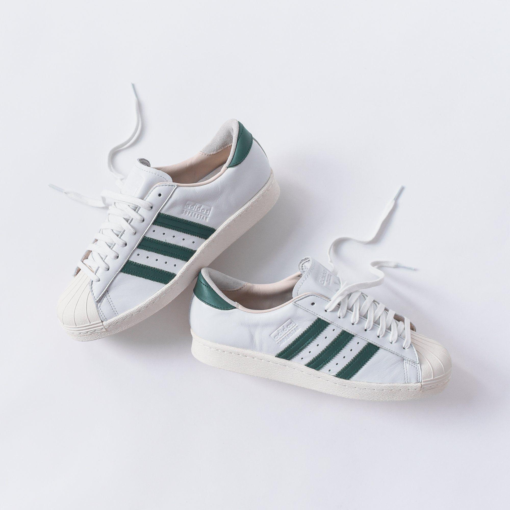 74e559c5a24b adidas Originals Superstar OG - White   Green – Kith