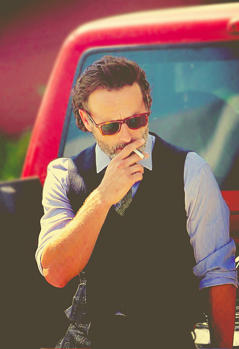 Andrew Lincoln #TheWalkingDead