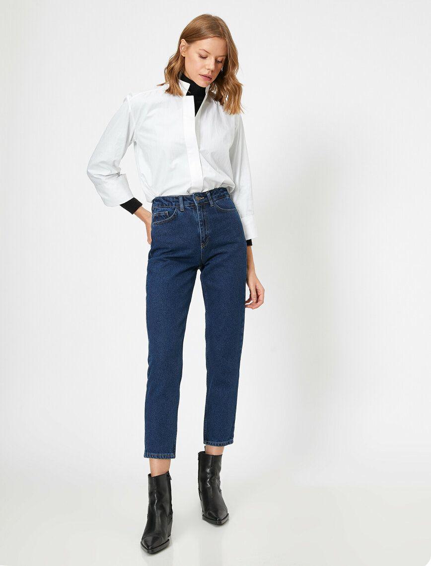 Mom Jean Pantolon 2020 Moda Stilleri Pantolon Jean