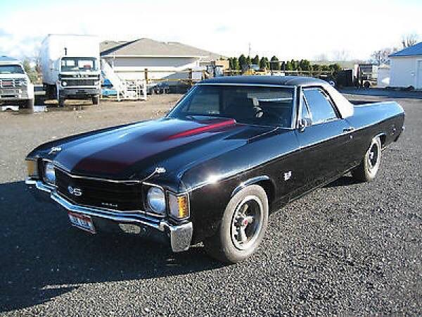 1973 Chevrolet El Camino From The Tv Series My Name Is Earl