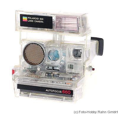 Polaroid: Polaroid 660 Transparent camera