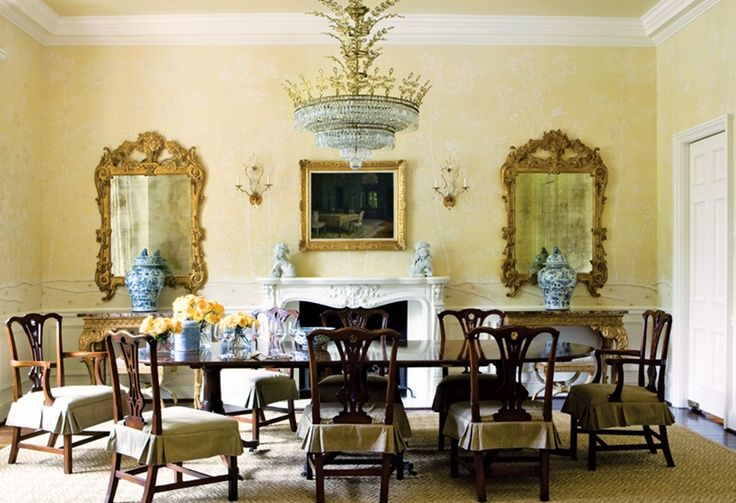 Chippendale Dining Room Alluring Formal Dining Room  For The Home  Pinterest  Formal Dining Decorating Design