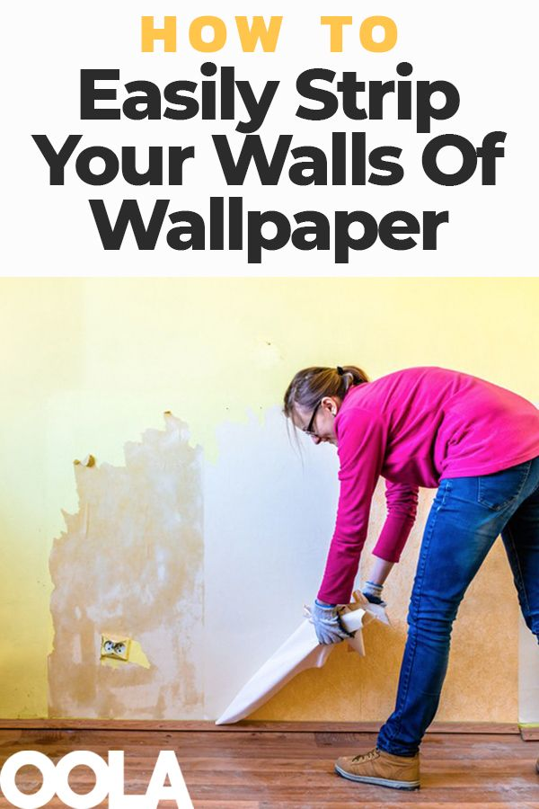 3 Tips On How To Remove Wallpaper Easily Removing old