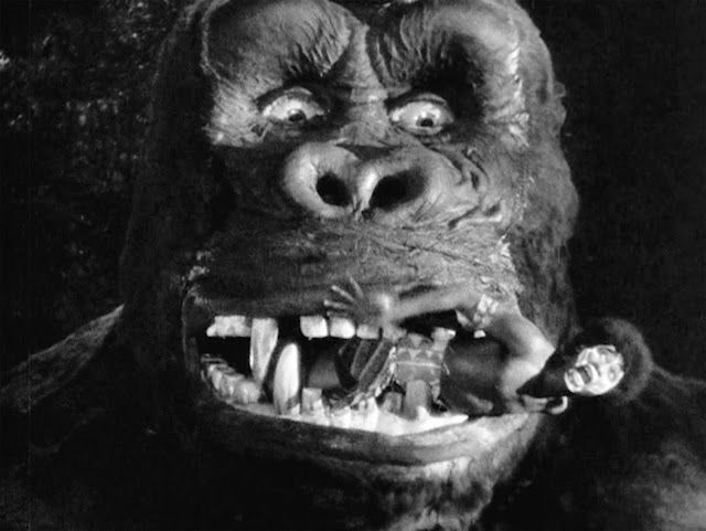 King Kong 1933 This Is A Full Size Head Where A Native
