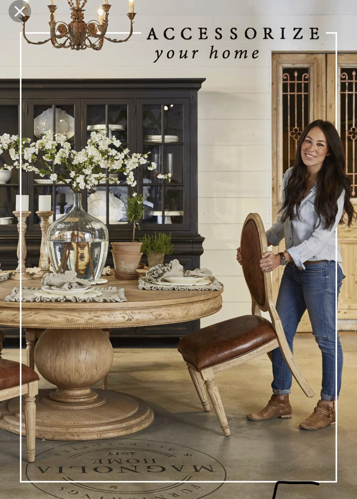 Pin By Jenny Day On Dinning Room Round Dining Table Decor Dining Room Table Centerpieces Dining Room Centerpiece
