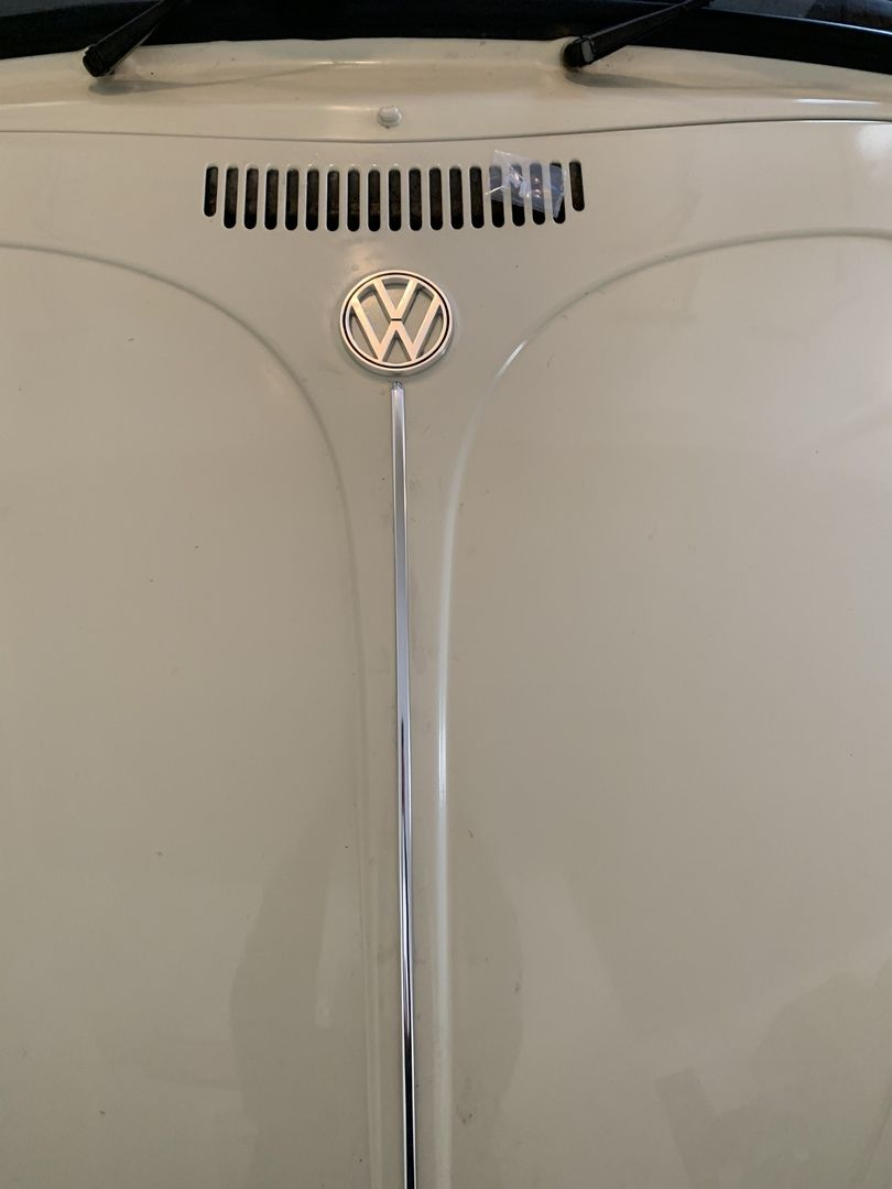 Vw Hood Emblem Made In Germany Beetle 1964 1973 Super Beetle 1971 1972 Type 3 1963 1969 In 2020 Vw Super Beetle Beetle Vw Emblem