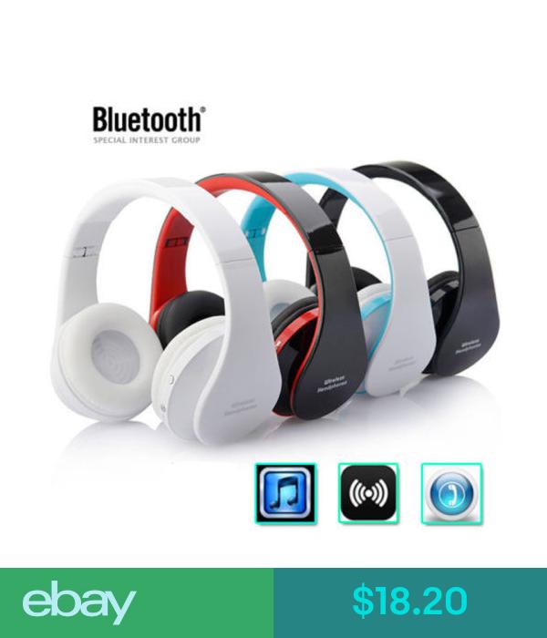 Headsets Stereo Wireless Bluetooth Headphone Earphone Headset 4 1 For Iphone Samsung Gb Ebay Electronic Headphones Stereo Headphones Bluetooth Stereo Headset