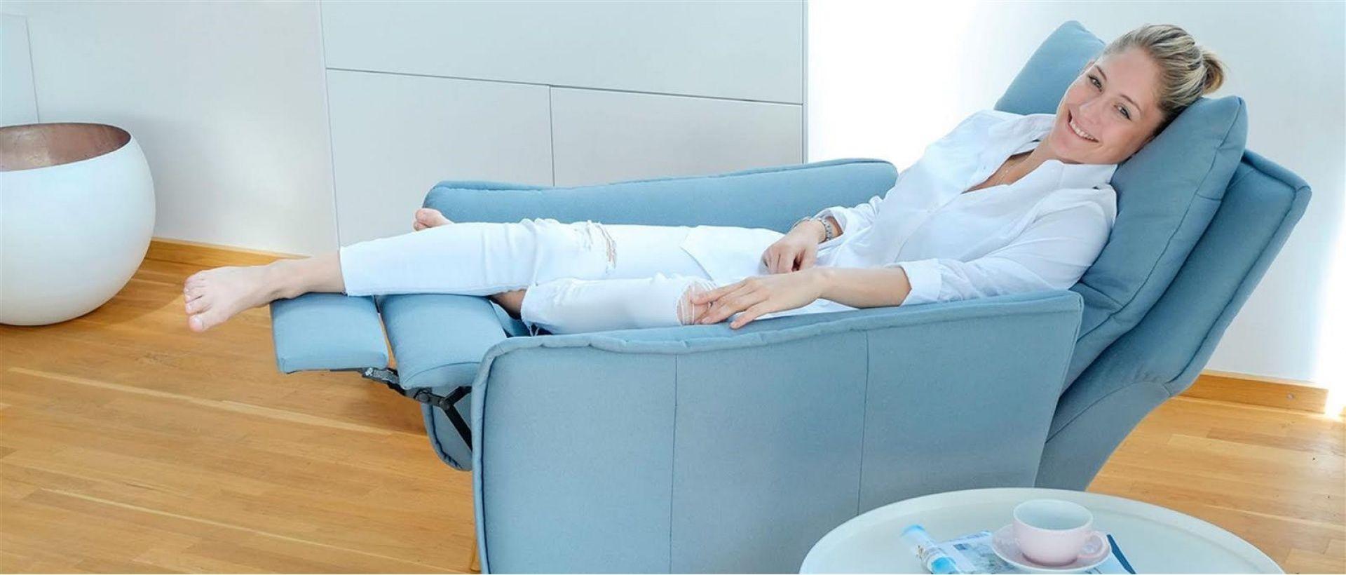 Moderner Hochwertiger Relaxsessel Fernsehsessel Mit