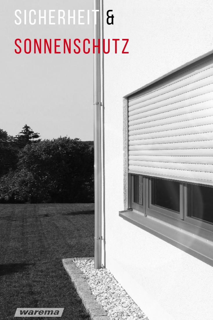 Rollladen Von Warema Rollladen Sonnenschutz Aussen Rolladen Fenster