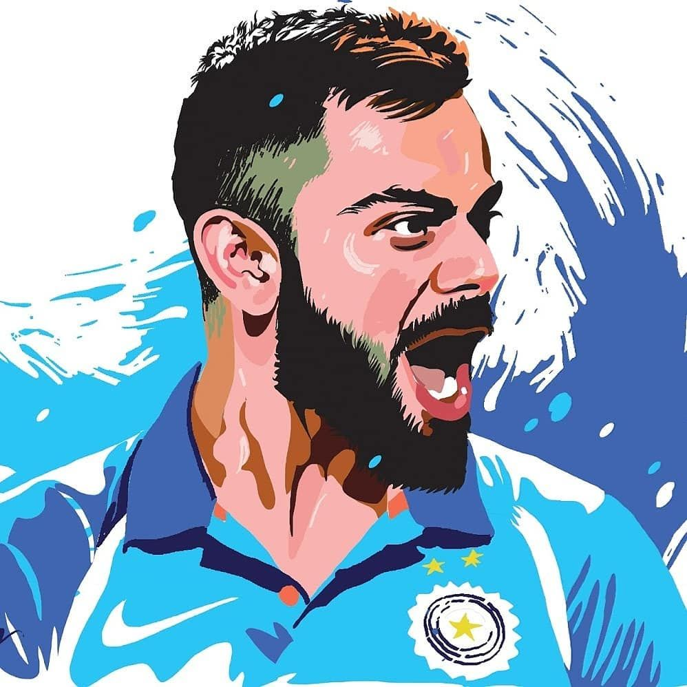 Virat Kohli on Cricket wallpapers, Virat kohli