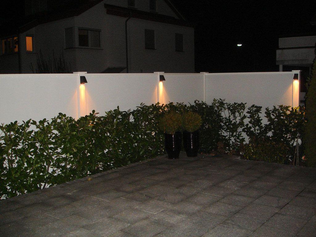 l rm wind und sichtschutzmauer innen 180 hoch designabdeckung pfosten wei wand verputz. Black Bedroom Furniture Sets. Home Design Ideas