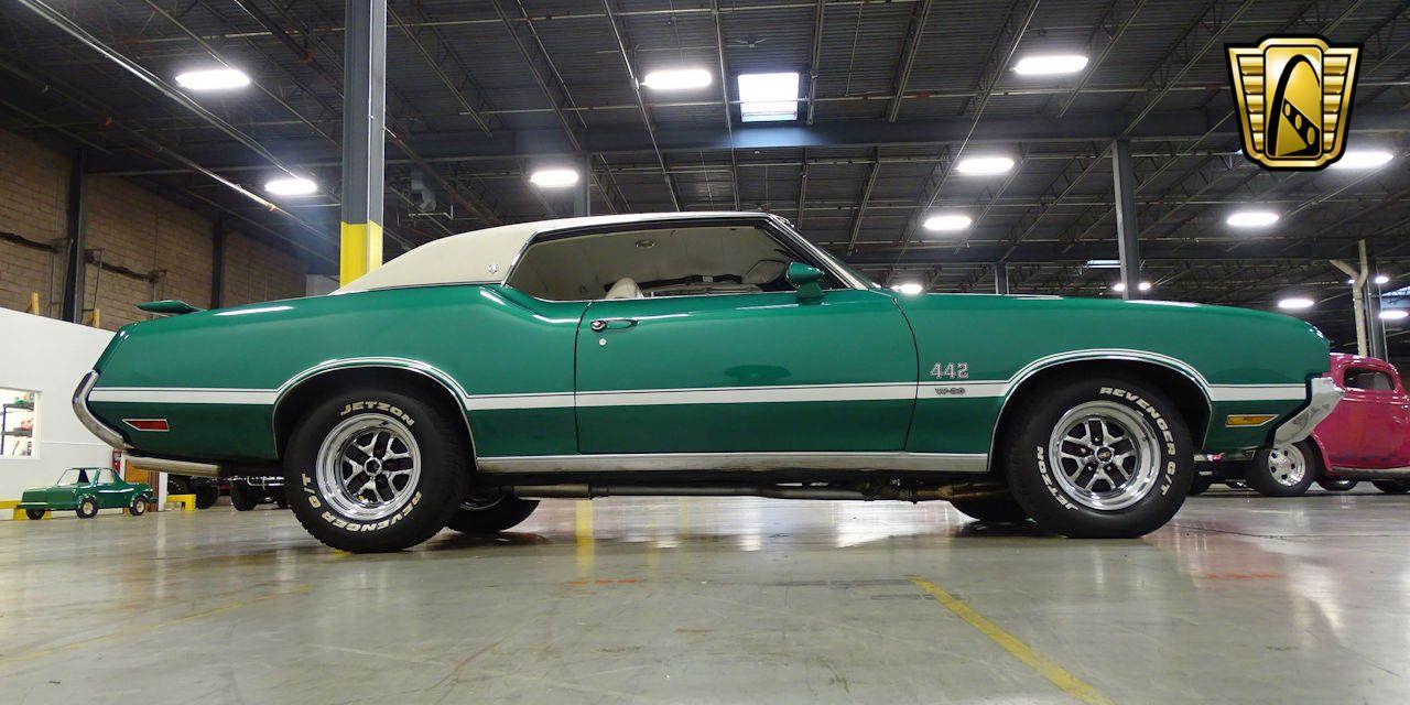 For Sale Green 1972 Oldsmobile Cutlass Supreme 461 CID V8 3-Speed ...